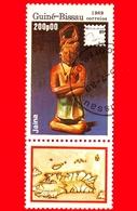 GUINEA BISSAU - 1989 - Mostra Filatelica Internazionale - 89 Brasiliana - Jaina - 200 - Guinea-Bissau