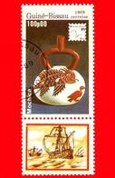 GUINEA BISSAU - 1989 - Mostra Filatelica Internazionale - 89 Brasiliana - Mochica - 100 - Guinea-Bissau