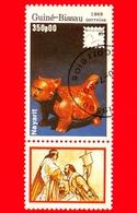 GUINEA BISSAU - 1989 - Mostra Filatelica Internazionale - 89 Brasiliana - Nayarit - 350 - Guinea-Bissau