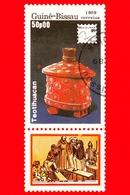 GUINEA BISSAU - 1989 - Mostra Filatelica Internazionale - 89 Brasiliana - Teotihuacan - 50 - Guinea-Bissau