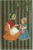 Illustrateur. Enfants Et Poupée. Bonne Année. - Nouvel An