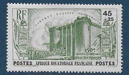 A.E.F. -  N° 72 * -- Cote : 19 € - A.E.F. (1936-1958)