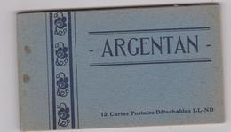 Bru14/2  : Orne :  ARGENTAN :  Carnet  11  Vues  , Manque  1  Vue!!! - Argentan