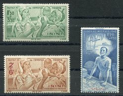 RC 10950 INDE PA N° 1 / 3 -  ENFANCE INDIGÈNE + QUINZAINE IMPÉRIALE NEUF ** TB - Inini (1932-1947)