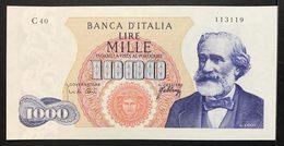 1000 Lire Verdi I° Tipo 20 05 1966 Spl/sup   LOTTO 1903 - [ 2] 1946-… : République