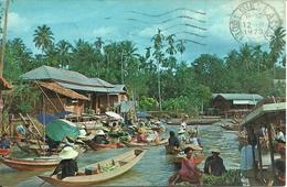 Bangkok (Thailand) Floating Market - Tailandia