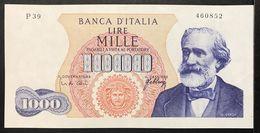1000 LIRE Italia Verdi I° Tipo 20 05 1966 Sup  LOTTO 1910 - 1000 Lire