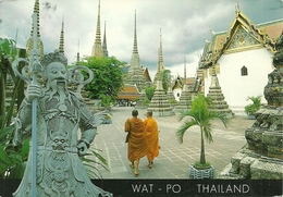 Bangkok (Thailand) One Scene Of The Inner Courtyard Of Wat Po - Tailandia