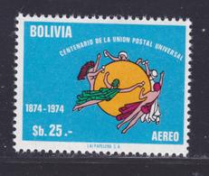 BOLIVIE AERIENS N°  338 ** MNH Neuf Sans Charnière, TB (D8044) Centenaire De L' U.P.U. -1975 - Bolivie
