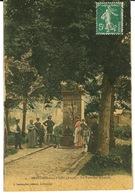 02 - BRUYERES SOUS LAON / LA FONTAINE MINERALE (carte Toilée) - France