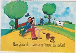 Bru14/2  : Illustrateur : Henri Louette :  Normandie , Vache - Künstlerkarten