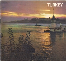 TURQUIE (ASIE 97 % - EUROPE 3 %) - GUIDE TOURISTIQUE - CARTES ROUTIÈRE. - Exploration/Travel