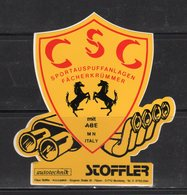 C.S.C  Sportauspuffanlagen - - Adesivi