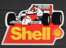 Shell (Marlboro) - - Adesivi