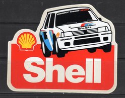Shell (PEUGEOT) - - Adesivi