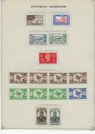 NOUVELLE - CALEDONIE - N° 244 A 256 - NEUF X - 1944-45 - COTE / 21 € - Nouvelle-Calédonie