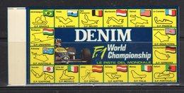 DENIM - Le Piste Del Mondiale F1 - - Adesivi
