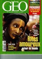 N° 234 Août 98 Magazine GEO Rites Amoureux Dans Le Monde Polygamie Adultère Sexualité Les Ethnologues Racontent - Culture