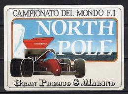 NORTH POLE - Campionato Del Mondo F.1 - Gran Premio Di S. Marino - - Adesivi