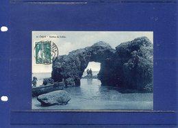 ##(ROYBOX1)-Postcards- Portugal - Lagos - Rochas Na Bahia - Used 1914 - Portugal