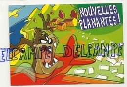 Looney Tunes. Taz. Nouvelles Planantes. Titi Au Verso. Warner Bros - Cartes Postales