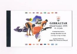 Gibiliterra - Libretto - Island Games - 15-22 July 1995 - L 727 - Gibraltar