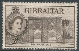 Gibraltar. 1953-59 QEII. 2d MH. SG148 - Gibraltar
