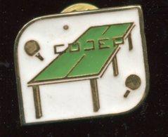 Pin's - Ping Pong - Tennis De Table COJEP - Tennis De Table