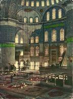 Istanbul (Turchia) Interior Of The Mosque Of Sultan Ahmet (Blue Mosque), Interno Moschea Blu - Turchia