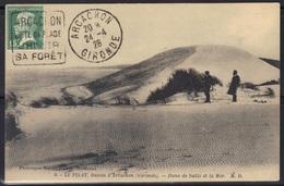 Arcachon : Oblitération Daguin Sur Carte Postale, 1926. - Marcophilie (Lettres)
