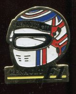 Pin's - Casque Renault Elf F1 Formule 1 - Car Racing - F1