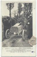 BARAS Sur Sa Voiture à Alcool De DARRACQ - Gros Plan-  Grand Prix PARIS-MADRID 1903 - Sport Automobile