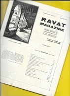 RAVAT Magazine Cycle & Motocycle Armes 1934 36 Pages + Couverture Format A4 Env. - Cycling