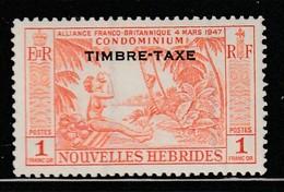 Nouvelles Hébrides - TIMBRES TAXES - N° 40 ** (1957) - Impuestos