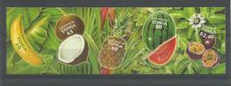 Tonga 2001 Fruit S.A. Strip Y.T. 1189/1193 ** - Tonga (1970-...)