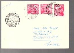 CLUB MEDITERRANEO Purto De Alcuddia 1950 > Suisse (6-30) - 1931-50 Lettres