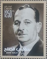 Lebanon 2018 NEW MNH Stamp - Sami Solh - Lebanon