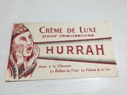 Buvard Ancien CRÈME DE LUXE HURRAH CHAUSSURES - Chaussures