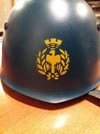 Elmo Italiano Aeronautica Militare M 33 Ottima Conservazione - Casques & Coiffures
