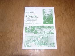 MEI 1940 ROMMEL Trekt Doorheen Het Tussen Samber En Maasgebied Van Dinant Tot Landrecies Oorlog Guerre 40 45 Houx Yvoir - Guerre 1939-45