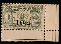 Nouvelles Hébrides - N°61 ** (1920) - Leyenda Francesa