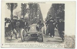 LOUIS RENAULT Sur Sa Voiture RENAULT De 30 Cv - Gros Plan - GRAND PRIX PARIS-MADRID 1903 - 2ème - Grand Prix / F1