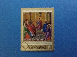RAS AL KHAIMA 5 D DUCCIO HOLY CHILD IN THE TEMPLE - Quadri