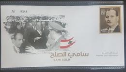 Lebanon 2018 NEW Stamp - Sami Solh - Ltd Edition FDC - Lebanon