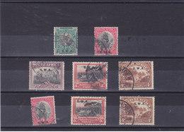 SWA SUD OUEST AFRICAIN 1927-1928  Yvert 84-87A + 94 + 96-96A Oblitéré, Cote :15.75 Euro - Afrique Du Sud-Ouest (1923-1990)