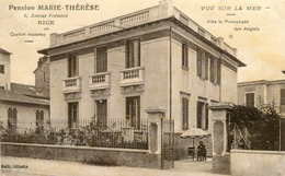 NICE  Pension MARIE-THERESE     255 - Pubs, Hotels And Restaurants