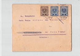 11077  OSTERREICH AUSTRIA WIEN TO ZARA ZADAR - Storia Postale