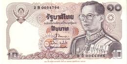 Thailand P.87  10 Bath 1980   Au - Tailandia