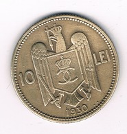 10 LEI 1930  ROEMENIE /9074/ - Roumanie
