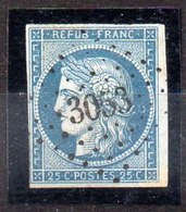 Sello De Francia N ºYvert 4 (o) Valor Catálogo 60.0€ - 1849-1850 Cérès